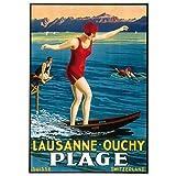 Schweiz Kanton Waadt Reise Lausanne Ouchy Sightseeing