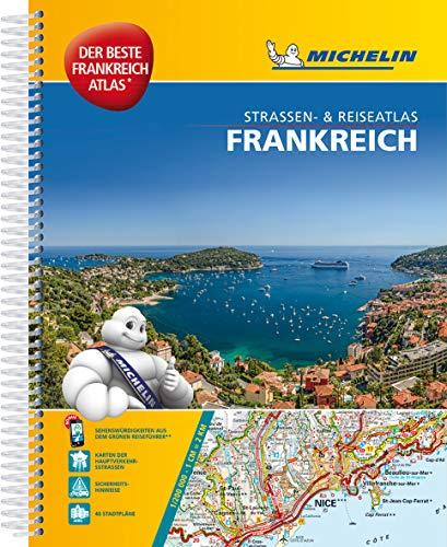 Michelin Straßenatlas Frankreich mit Spiralbindung: DIN A4, Auflage 2019 (MICHELIN Atlanten)