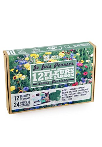 Radis et capucine - Je fais pousser mes 12 fleurs décoratives