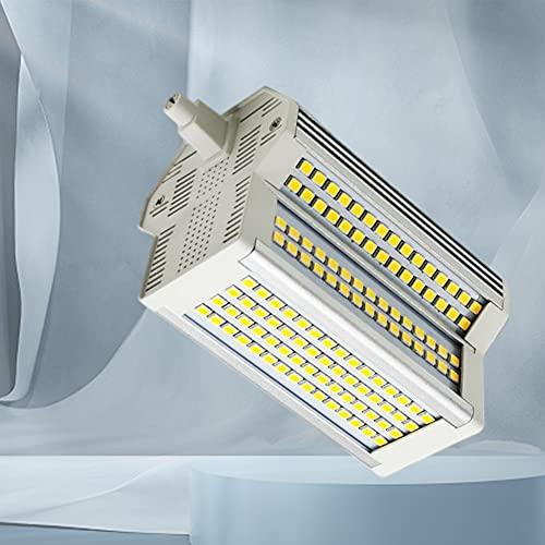 Bombilla LED R7S 118mm Regulable 50W 5400LM Blanco cálido 3000K AC110-240V Bombilla LED J118 de Doble Extremo 500W Bombillas...