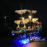 LIGHTAILING Conjunto de Luces (Disney Piratas del Caribe Silenciosa Mary) Modelo de Construcción de Bloques - Kit de luz LED Compatible con Lego 71042 (NO Incluido en el Modelo)