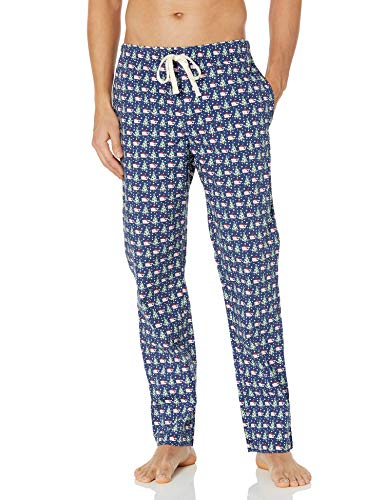 Vineyard Vines Herren Printed Lounge Pants Pyjamahose, Tree Deep Bay, X-Small