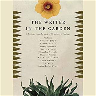 The Writer in the Garden audiobook cover art