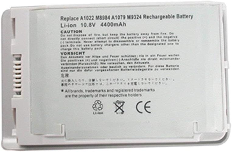 Ordinateur portable de remplaceHommest BATTERIE POUR PowerBook G4 12 A1022 M8760 M8984 M8984G portable durable couleur noire (multiCouleure)