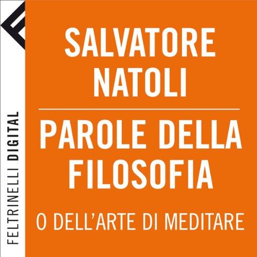 Parole della filosofia [Words of Philosophy] cover art