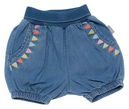 Sigikid Baby-Mädchen Jeans Bermuda, Shorts, Blau (Denim Light Blue 590), (Herstellergröße: 86)