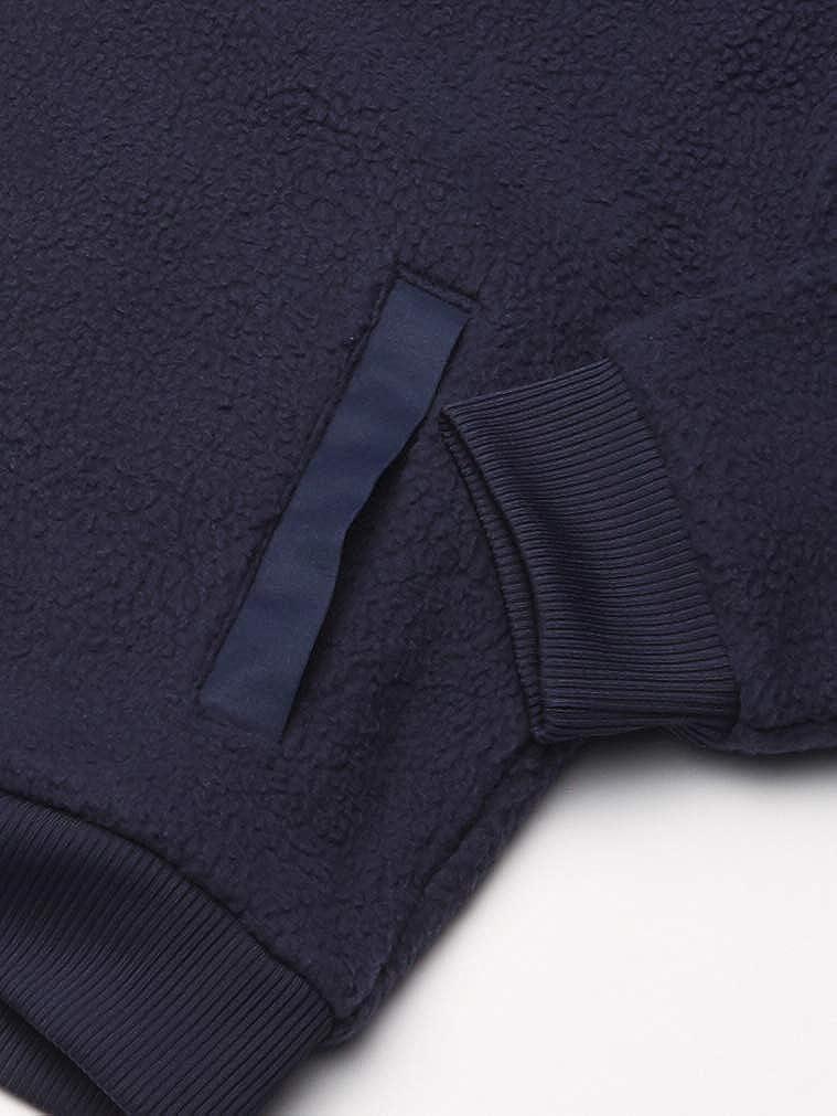 Lacoste Boys Full Zip Graphic Teddy Sweatshirt