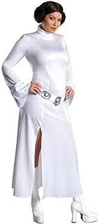 Secret Wishes Star Wars Princess Leia Costume, White, Plus