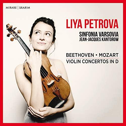 Liya Petrova, Sinfonia Varsovia & Jean-Jacques Kantorow