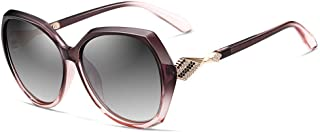 نظارة اكيه اتش فيثديا الشمسية الانيقة بعدسات مستقطبة وحماية من الاشعة فوق البنفسجية للنساء