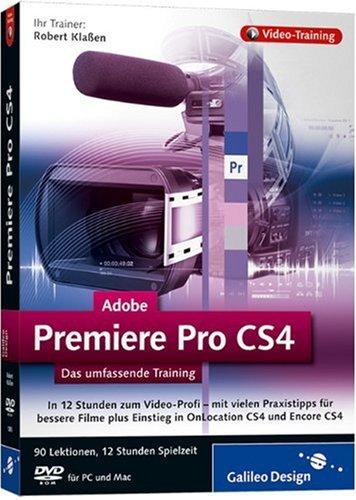Adobe Premiere Pro CS4 - Das umfassende Training auf DVD [import allemand]
