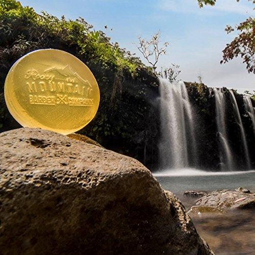 Savon pour Homme 100% Naturel Épice de Cèdre et Birchwood Rocky Mountain Barber Company - 6