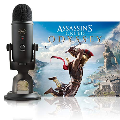 Blue Yeti Blackout + Assassin's Creed Odyssey...