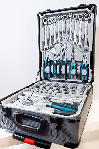 Kraftwelle Werkzeugtrolley Werkzeugkoffer 188 teilig