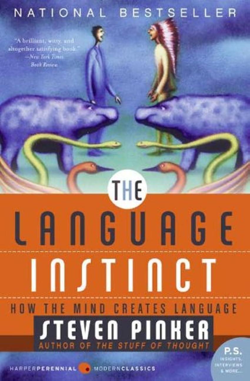 線メドレーあたたかいThe Language Instinct: How The Mind Creates Language (Harper Perennial Modern Classics) (English Edition)