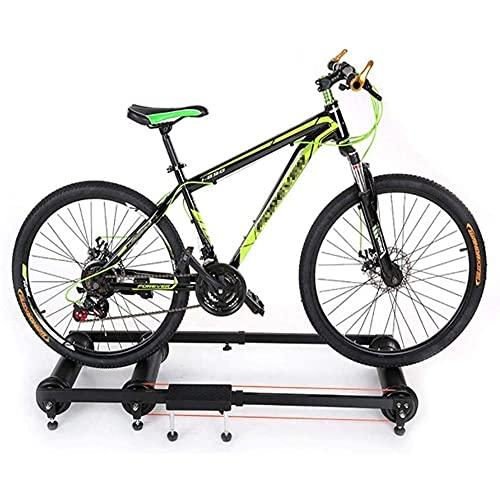 Soporte para entrenador de bicicleta, ajustable, para interior, ciclismo, parabólico, aleación de aluminio, rodillo, ejercicio, ejercicio, marco estacionario para bicicletas de montaña y de carretera