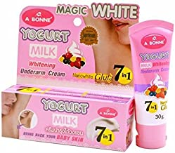 milk protein lightening cream