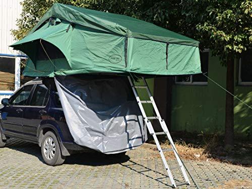 Prime Tech  Autodachzelt Extended, grün - 320x140x130cm (ohne Vorzelt)