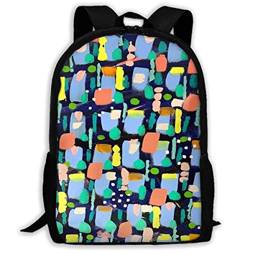 Bingyingne Robot Graffiti - Mochila de viaje premium para adultos, mochila resistente al agua para grandes negocios, colegio, escuela, mochila