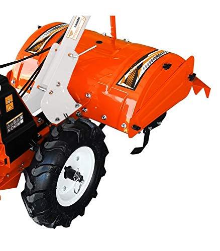 Motoculteur fraise arrière 7 Cv vitesse transmission fonte 1AV 1AR Ruris 5800FR