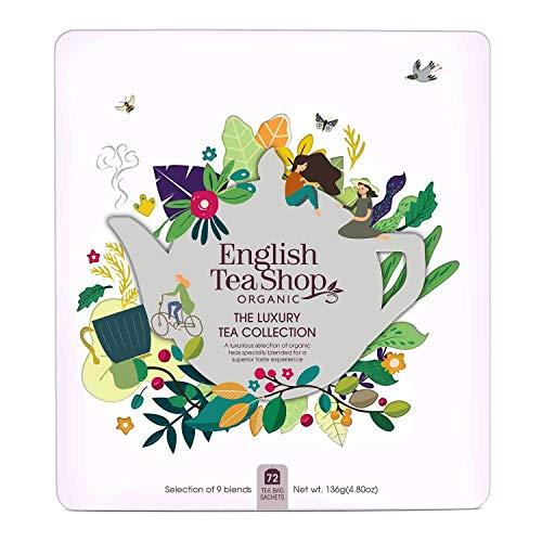 "English Tea Shop - Tee-Geschenkbox aus Metall ""Luxury Tea Collection"" mit 72 BIO-Tees"