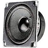 Visaton FRWS 5 4W Schwarz - Lautsprecher (150-20000 Hz, Schwarz, Verkabelt, -25-70 °C)