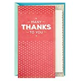 Hallmark Thank You Card, You're Appreciated (Nurses Day Card, Teacher Appreciation, Healthcare Worker Gift)