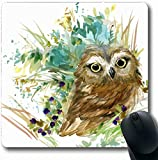 Mousepad Mousemat Ray Brown 90S Retro Abstract Radio 50S Waves Music 80S Half Dot Shape Antideslizante Gaming Mouse Pad 25X30CM