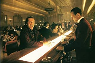 Jack Nicholson and Joe Turkel in The Shining in bar grinning 24x36 Poster