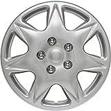 Auto-Style California 17' Silver Copricerchio Set, 4 pezzi