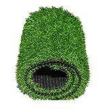 NOOYC Cesped sintético Hierba Alfombra Interior y Exterior, 10 mm / 0.39in Realista Césped Artificial para Perro Césped de Verde Alta Suave Césped Thick Hierba Artificial,4x2m/12x6ft