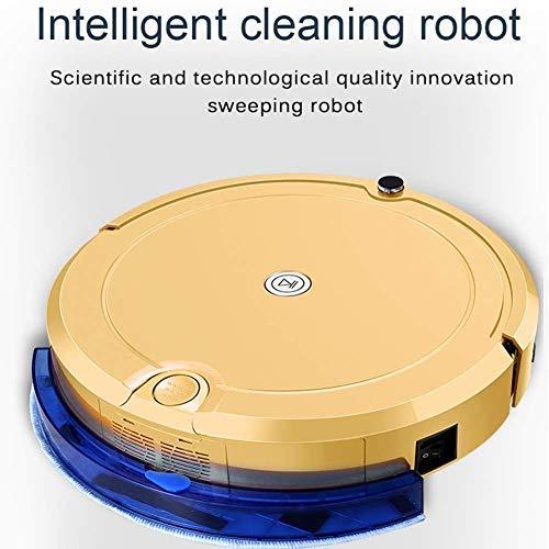 CHUTD Robot Stofzuiger, Volledig Automatische Thuis Intelligente Stofzuiger APP Afstandsbediening, Vier Schoonmaakmodus Planning Schoonmaken voor Alle soorten Vloer
