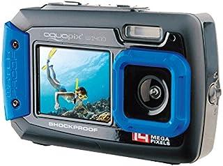 Aquapix W1400 Active Iceblue digitale onderwatercamera (14 megapixel, 6,8 cm (2,7 inch) dual display, 4-voudige zoom, waterdicht tot 3 m)