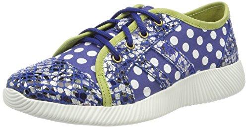 Laura Vita Delphine 11, Zapatillas Mujer, Azul Azul, 39 EU
