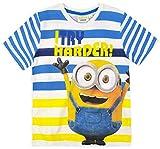 Camiseta de manga corta para niños Giris de los Minions Diseño 2 104