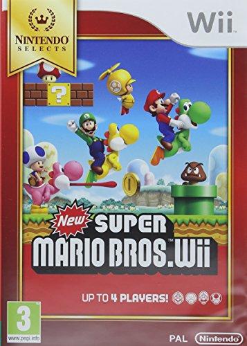 Nintendo Selects New Super Mario Bros.Wii, Juego