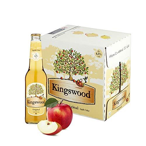 Kingswood Cider Apfelschaumwein Box (12 x 0.4 l)