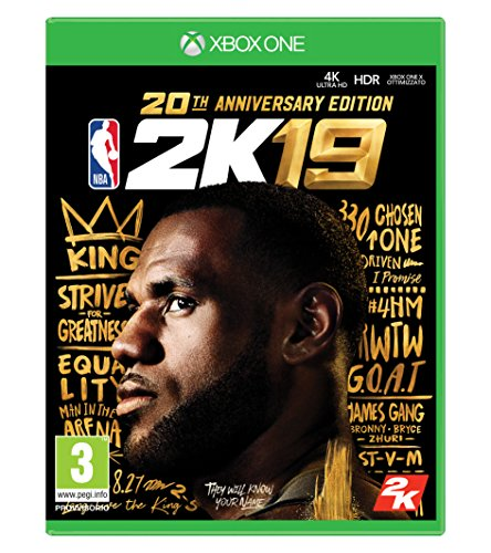 NBA 2K19 20th Anniversary Edition - Special Limited - Xbox One