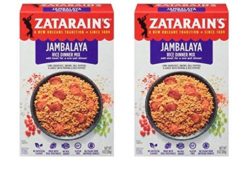 Zatarain's New Orleans Style Mixes, Jambalaya, 8 oz (Pack of 2)