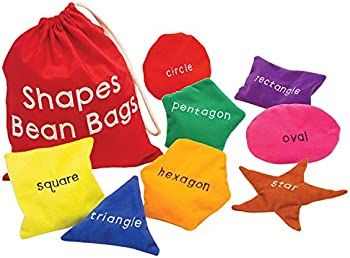 8-Set Educational Insights Shapes Beanbags