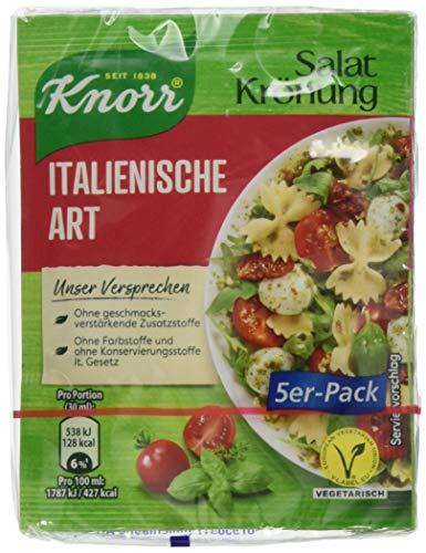Knorr Salatkrönung Italienische Art Dressing 5er-Pack, 450 ml