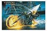 Ghost Rider Film Poster Motorrad Nicolas Cage 24x 36