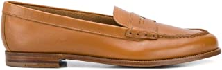 Luxury Fashion | Church's Women DD00469FGF0ABR Brown Leather Loafers | Spring-summer 20