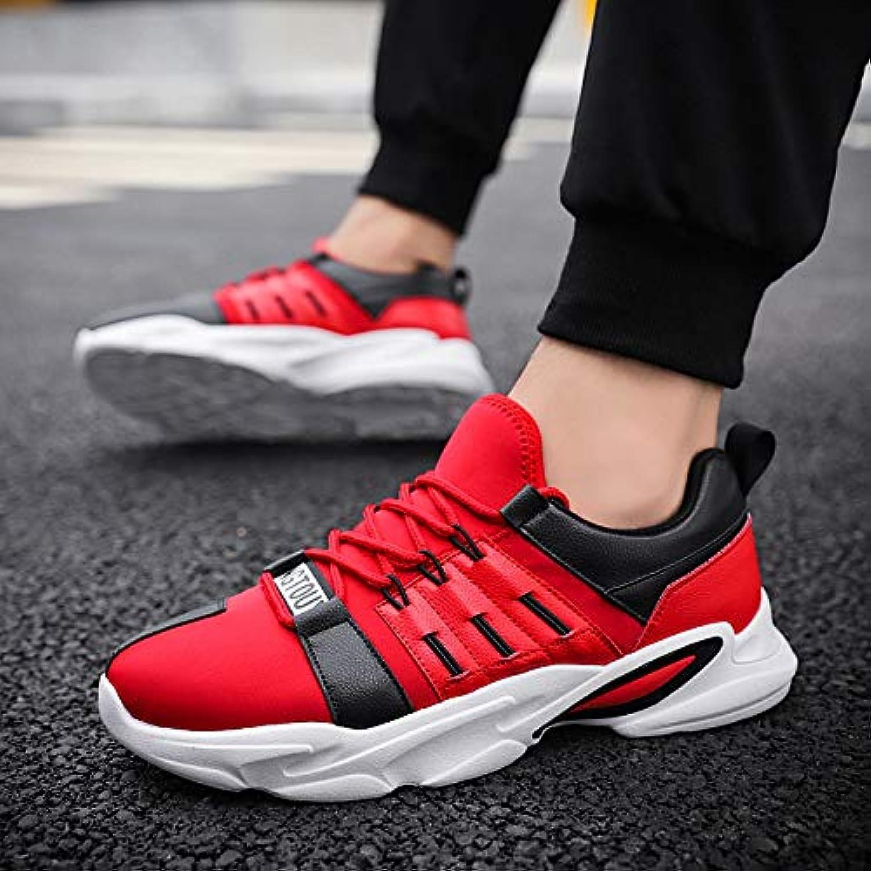 NANXIEHO Herrenschuhe Net Atmungsaktive Sportschuhe Rutschfeste Dämpfung Lauf Trend Freizeitschuhe Licht Einzelne Schuhe B07GTDMY6F  Bestellungen sind willkommen