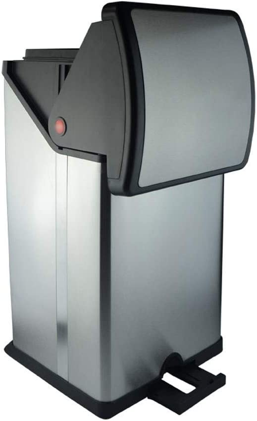 YIFEI2013-SHOP Trash Can Selling rankings 30L 8 Kitchen Rectangular 5 ☆ very popular Step Gallon