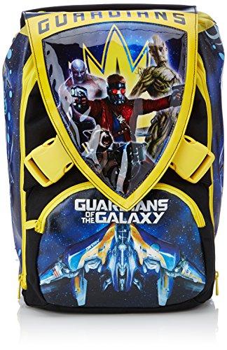 Gardiens de la Galaxie-Sac à Dos d'école avec ustensiles détachables Big Extensible Simple et Demi 28 litres