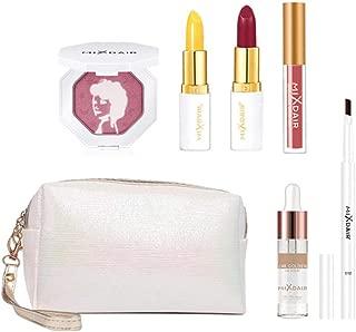 MOGOI Makeup Kit Gift Set with Bag, Beautiful Colour Collection Gift Set for Women - 7 Pcs