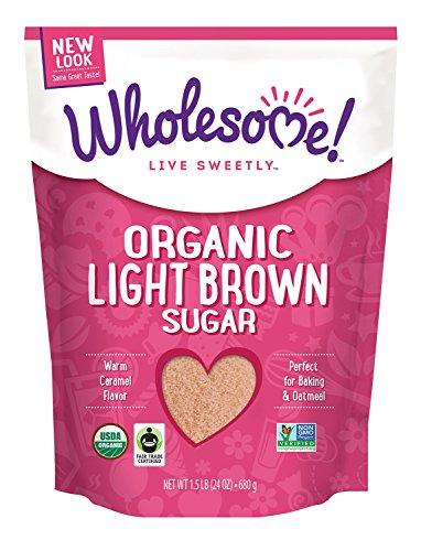 organic light brown sugar - 7