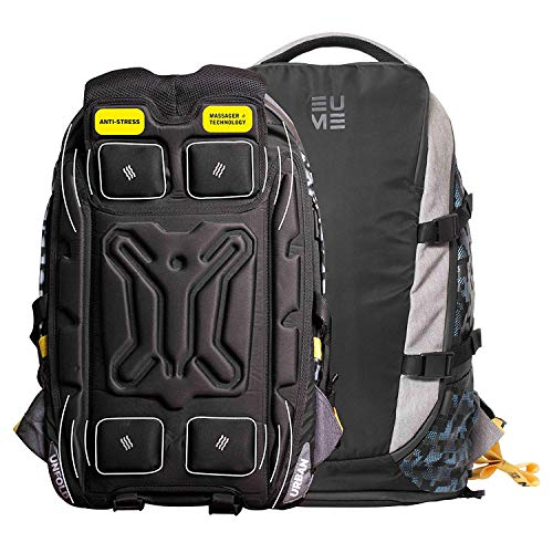 EUME Move Premium Travel Backpack with Built-In Massager &...