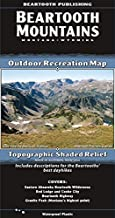 Beartooth Mountains, Montana/Wyoming Outdoor Recreation Map